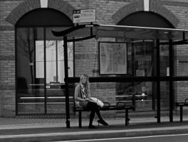 Bus Stop by daliscar