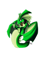 Chibi Xez Dragon by xezeno