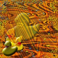 Duck dreaming. by jennystokes
