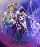 Hotaru, Usagi and Mistress9 by SpaceWeaver
