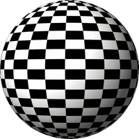 120 frame chessboard spinning globe by 10binary