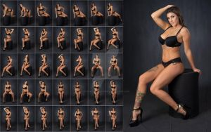 Stock: Rebecca Glam Sitting Poses - 35 Images by stockphotosource