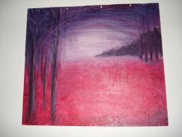 forest passion at midnight by noiselessness