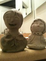 comparing these two sculpiures by chibisrule943