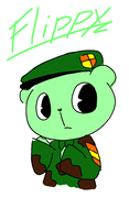 Flippy! c: gawd hes so adorable by BandaidsAndHugs
