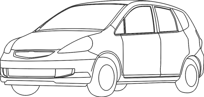 Honda Fit Trace by MasterThizzy