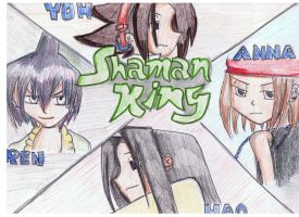 Shaman King by dawnleapord