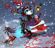 Veigar, the Villian of Christmas by dw628