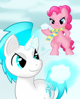 Com: Bring it Iceypony by intheallspark