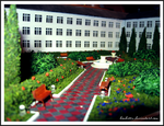 Model of the public garden-1 by Margo-sama