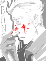 Banquo by CurvedCat