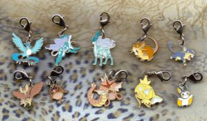 Zipper pull collection by Cloudchild75