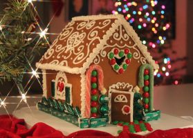 Habitat for Gingerbread Humanity by Queenbear