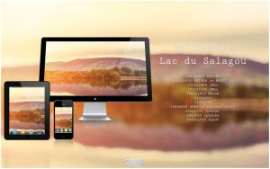 WallBundle 11 : Lac du Salagou by songe