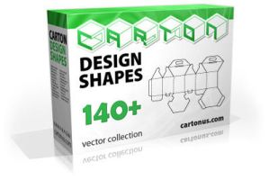 Carton design shapes PACK 140 by cartonus