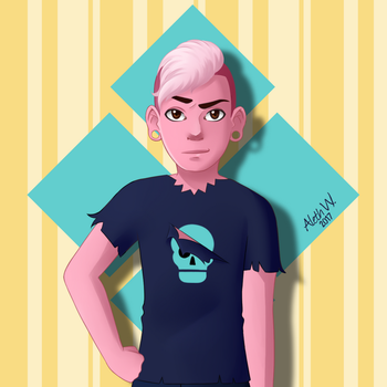 Lars   Steven Universe by AlethW