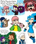 Johto Gym Leaders by Nezumechan