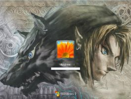 Twilight Princess - Windows 7 by Ruuqowolf987