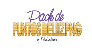 Pack de Puntos de Luz PNG' by ValuuEditions
