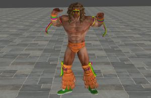 'WWE: All Stars' Ultimate Warrior XPS ONLY!!! by lezisell