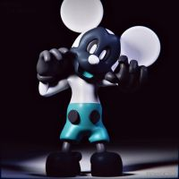 Photo Negative Mickey by NexusDrakeson