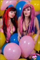 Trashy Life balloon party by JBaxterPhoto