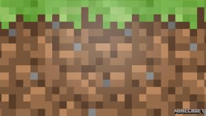Minecraft Dirt Wallpaper by averagejoeftw