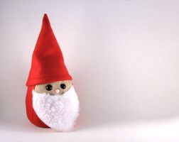 Red Gnome Plushie by Saint-Angel