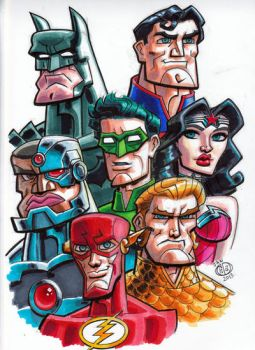 Justice League by Chad73