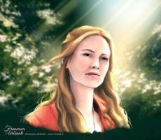 Cersei Lannister fanart Game of Throne by nime080