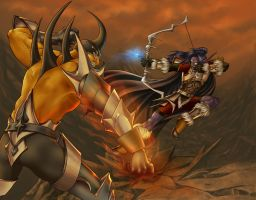 WoW: Burning Steppes by Saehral