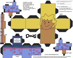 Doug: Patti Mayonnaise Cubee by TheFlyingDachshund