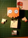 Cubecraft Dr Zoidberg step3 by ValecHax