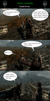 Skyrim is Strange - Quest-Givers by HelloMyNameIsEd