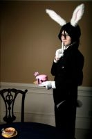 White Rabbit, Black Butler by MarmaladeHearts
