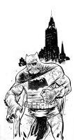 Batman Darn Knight by JHarren