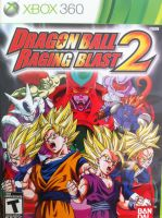 Dragon Ball Raging Blast 2 Cover by JustMiracleZ