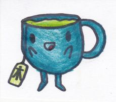 Trevor the Cup Person by Ask-MantisPrince