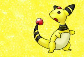 Ampharos by sugarmonkey1994