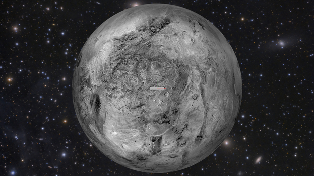 [DL] Dwarf Planet Haumea SkyDome by Maddoktor2