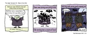 Ugly Vampire 04 - Bats in the Attic by Kat-Nicholson
