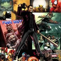 Frank West Marvel Zombies by NightmareZeroX6