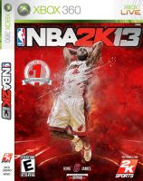 LeBron James NBA 2K13 Cover by Angelmaker666