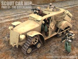 Scout Car WIP3 Model by MikeDoscher