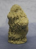 Cthulhu resin bust(unpainted) by shaungent