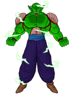 Piccolo Full Power by SpongeBoss
