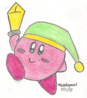 Sword Kirby Drawing by MarioSimpson1