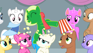 Popcorn for all! no done by Berrystar12345