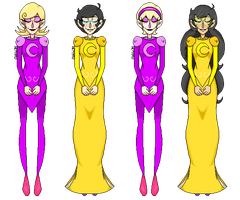 Homestuck - Dream Girls by abbic314