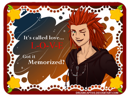 Axel's Valentine by DreamCaptive